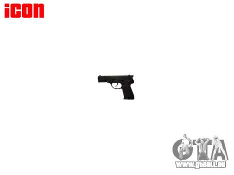 Pistolet QSZ-92 pour GTA 4 troisième écran