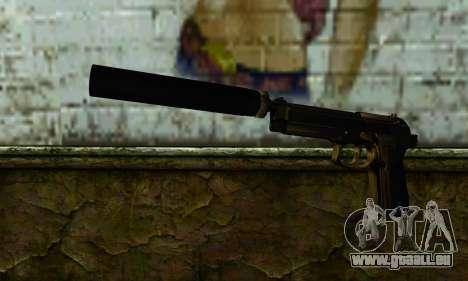 Beretta M9 Silenced pour GTA San Andreas