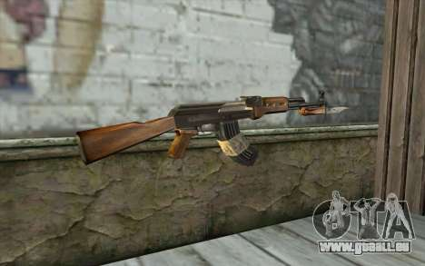 AK47 from Firearms v1 für GTA San Andreas zweiten Screenshot