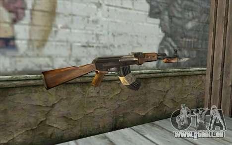 AK47 from Firearms v1 pour GTA San Andreas deuxième écran