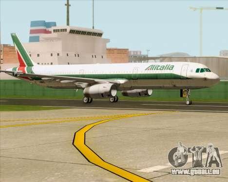 Airbus A321-200 Alitalia pour GTA San Andreas