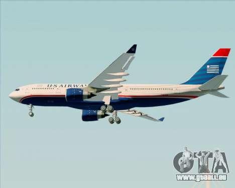 Airbus A330-200 US Airways pour GTA San Andreas vue de droite