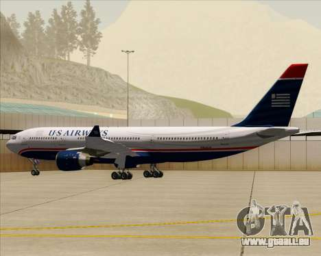 Airbus A330-200 US Airways pour GTA San Andreas roue