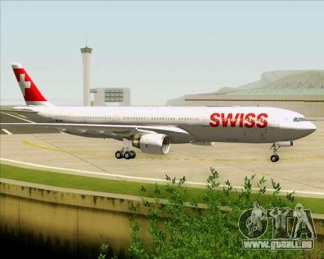 Airbus A330-300X Swiss International Air Lines für GTA San Andreas Seitenansicht