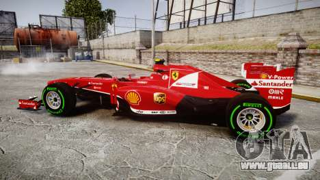 Ferrari F138 v2.0 [RIV] Massa TIW für GTA 4 linke Ansicht