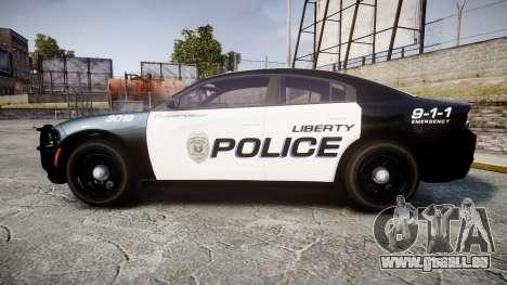 Dodge Charger 2015 LPD CHGR [ELS] für GTA 4 linke Ansicht