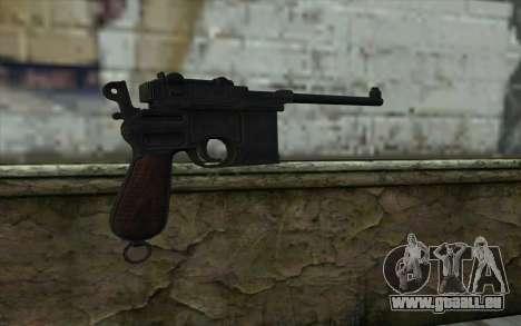 Mauser C96 v2 pour GTA San Andreas deuxième écran