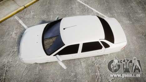 VAZ-2170 d'échappement AMG pour GTA 4 est un droit