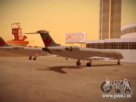 Bombardier CRJ-700 Air Canada Express pour GTA San Andreas vue arrière