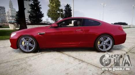 BMW M6 pour GTA 4 est une gauche