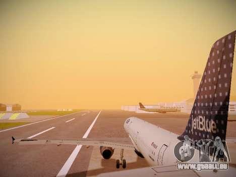 Airbus A321-232 jetBlue Woo-Hoo jetBlue pour GTA San Andreas moteur