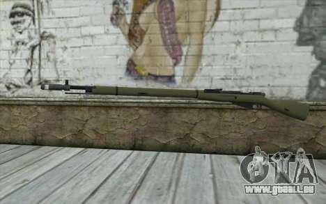 Die Gewehre Mosin-v7 für GTA San Andreas