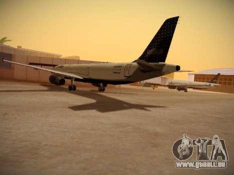 Airbus A321-232 jetBlue Woo-Hoo jetBlue für GTA San Andreas rechten Ansicht