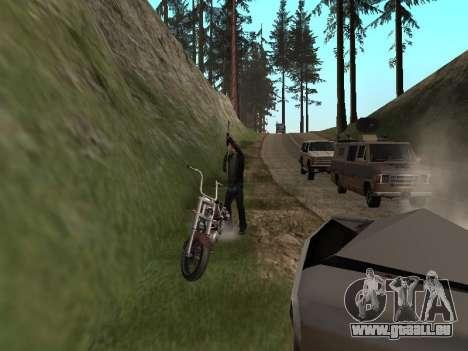 Ändern Bereiche von Banden und Ihre Waffen für GTA San Andreas her Screenshot