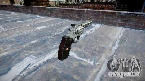 Revolver Colt Python .357 Elite für GTA 4 Sekunden Bildschirm