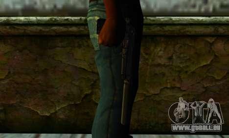 Beretta M9 Silenced pour GTA San Andreas troisième écran