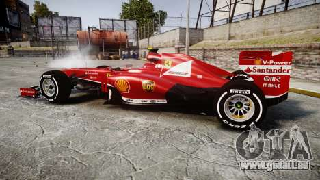 Ferrari F138 v2.0 [RIV] Massa TMD für GTA 4 linke Ansicht