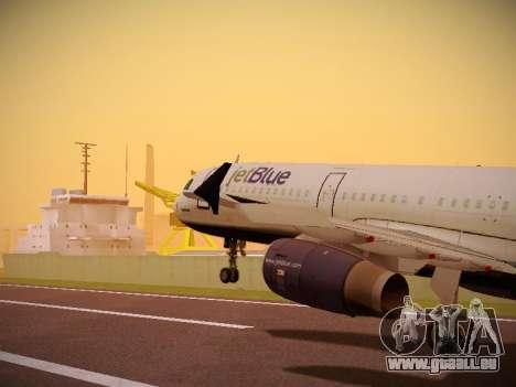 Airbus A321-232 Big Blue Bus pour GTA San Andreas
