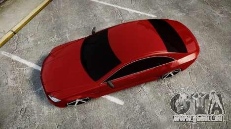 Mercedes-Benz CLS 63 AMG Vossen für GTA 4 rechte Ansicht