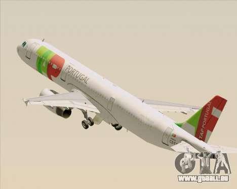 Airbus A321-200 TAP Portugal pour GTA San Andreas