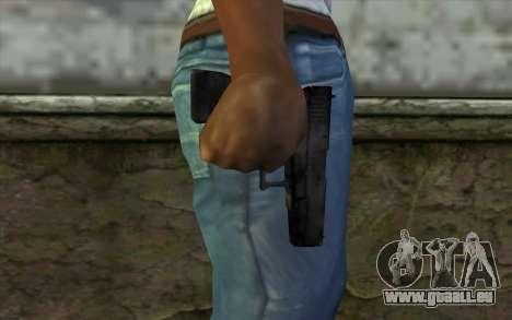 Glock from Beta Version für GTA San Andreas dritten Screenshot