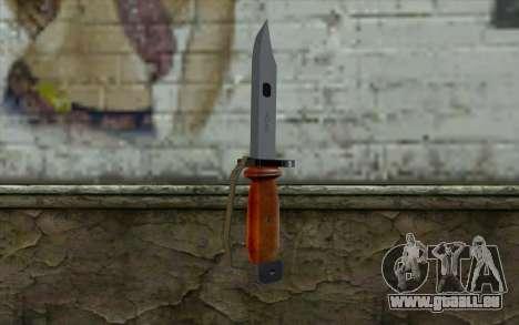 Knife from Half - Life Paranoia für GTA San Andreas