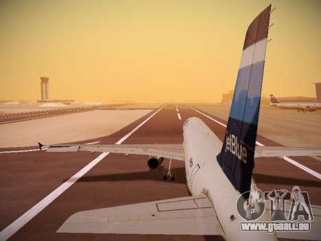 Airbus A321-232 Big Blue Bus pour GTA San Andreas