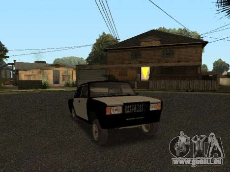 CES 2107 Hobo pour GTA San Andreas