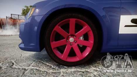 Chrysler 300 SRT8 2012 PJ SRT8 pour GTA 4 Vue arrière