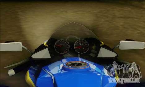 ATV Quad pour GTA San Andreas sur la vue arrière gauche