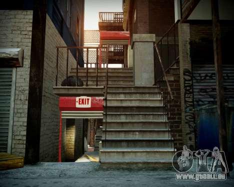 Garage avec de nouveaux intérieur Alcaline pour GTA 4 quatrième écran