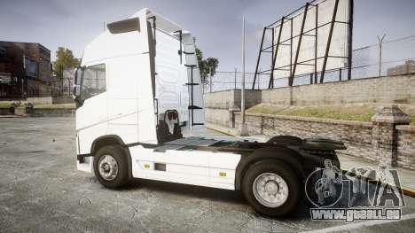 Volvo FH16 pour GTA 4 est une gauche