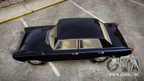 FSO Warszawa Ghia 1959 pour GTA 4 est un droit