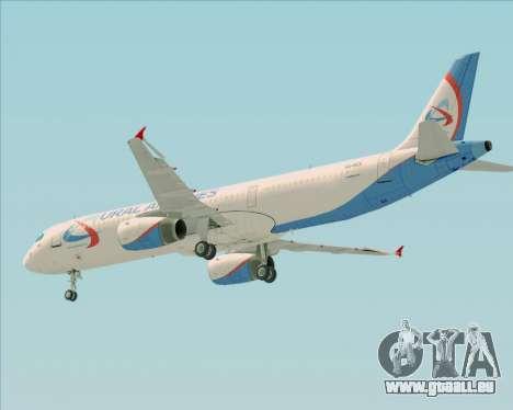 Airbus A321-200 Ural Airlines pour GTA San Andreas moteur