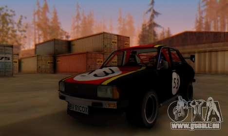 Dacia 1410 Sport pour GTA San Andreas laissé vue