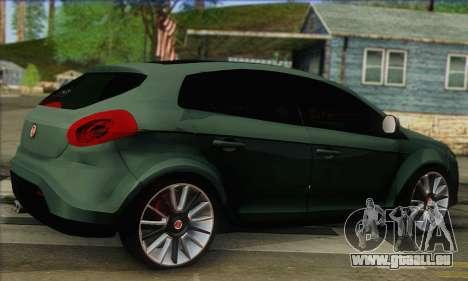Fiat Bravo 2 pour GTA San Andreas laissé vue