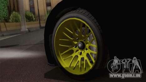GTA 5 Adder pour GTA San Andreas sur la vue arrière gauche