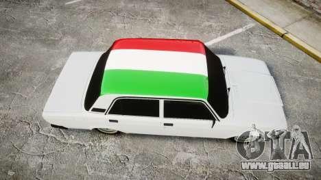 VAZ-2107 Italie pour GTA 4 est un droit