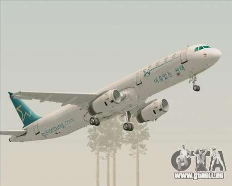 Airbus A321-200 Hansung Airlines für GTA San Andreas
