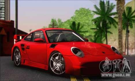Porsche 997 Turbo Tunable pour GTA San Andreas vue de droite