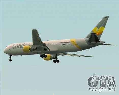 Boeing 767-330ER Condor für GTA San Andreas Rückansicht