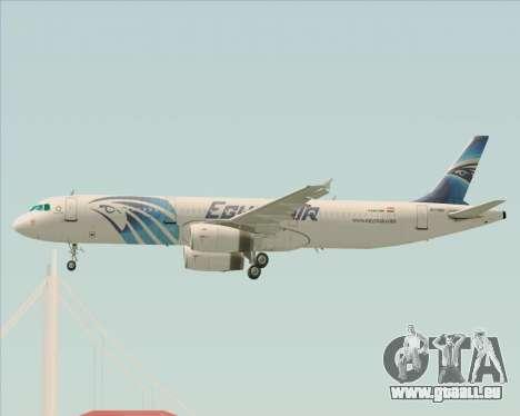 Airbus A321-200 EgyptAir pour GTA San Andreas moteur