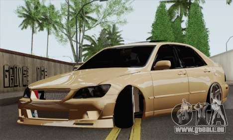 Lexus IS300 Hellaflush pour GTA San Andreas
