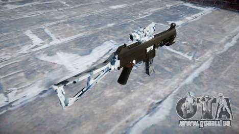 Pistolet UMP45 Crânes pour GTA 4 secondes d'écran
