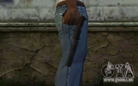 FN FNP-45 Avec Silencieux pour GTA San Andreas troisième écran