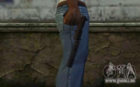 FN FNP-45 Mit Schalldämpfer für GTA San Andreas dritten Screenshot