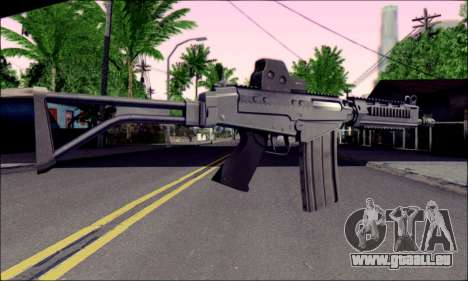 SA58 OSW v2 pour GTA San Andreas deuxième écran