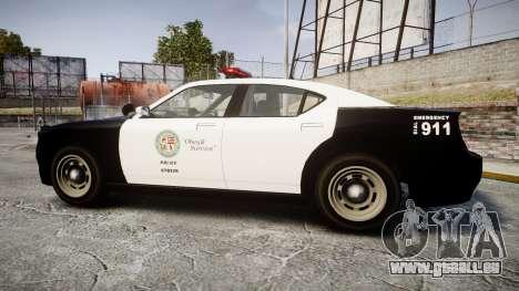 GTA V Bravado Buffalo LS Police [ELS] pour GTA 4 est une gauche