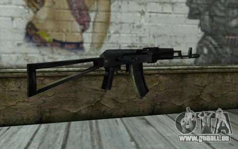 АКС-74 de la Paranoïa pour GTA San Andreas deuxième écran