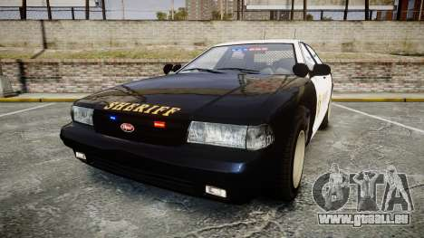 GTA V Vapid Cruiser LSS Black [ELS] Slicktop pour GTA 4